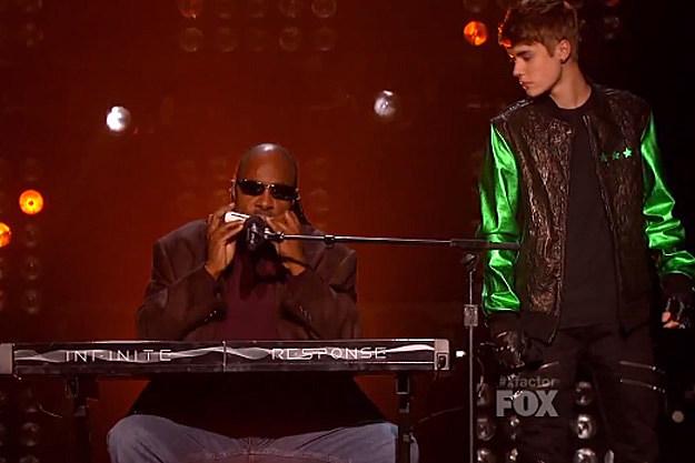 Stevie Wonder Justin Bieber