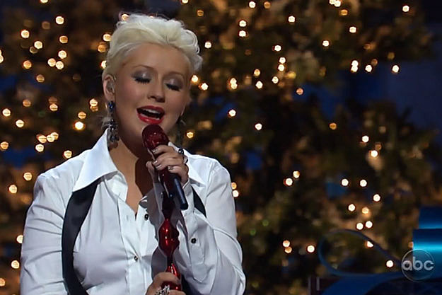 Watch Christina Aguilera Perform 'Have Yourself a Merry Little ...