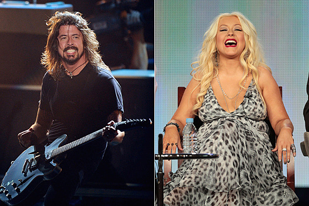 Dave Grohl, Christina Aguilera