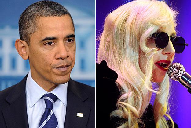 Obama Lady Gaga
