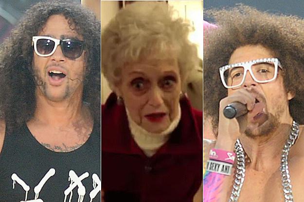 Skyblu, Grandma, Redfoo