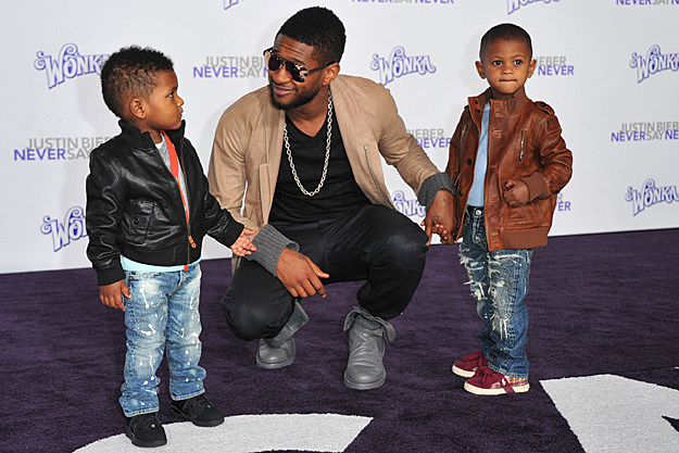 Usher Denies Wife's Claims of Poor Parental Habits