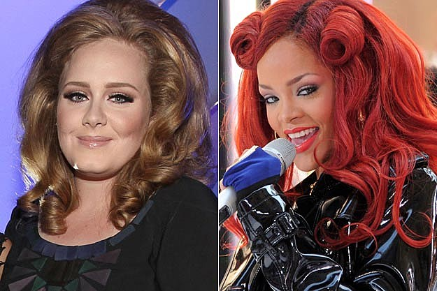 Adele Rihanna