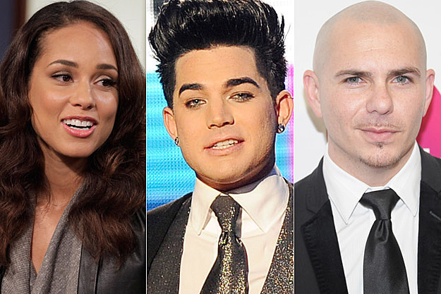 Alicia Keys, Adam Lambert, Pitbull