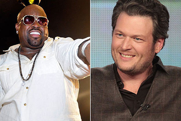Blake Shelton and Cee Lo Green