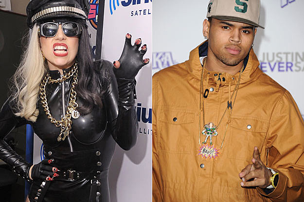Lady Gaga Chris Brown