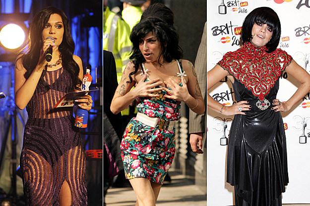 Jessie J, Amy Winehouse, Lily Allen