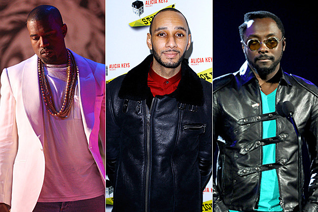 Kanye West, Swizz Beatz, will.i.am