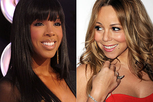 Kelly Rowland Mariah Carey