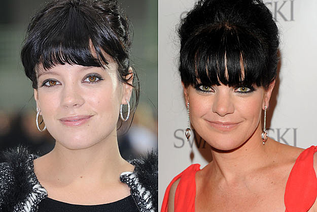Lily Allen Pauley Perrette