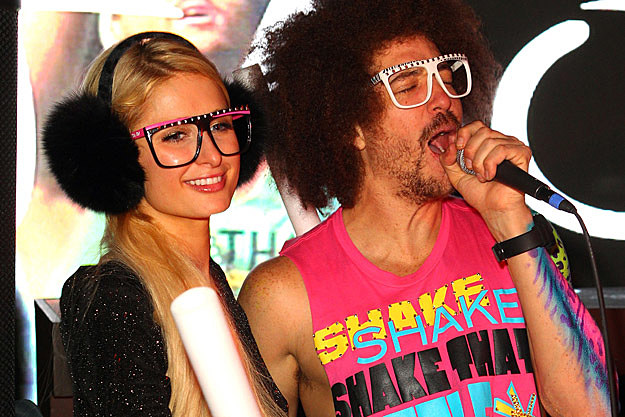 Paris Hilton, LMFAO