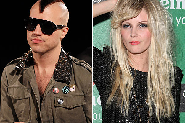 Tyler Glenn of Neon Trees Mette Lindberg of the Asteroids Galaxy Tour
