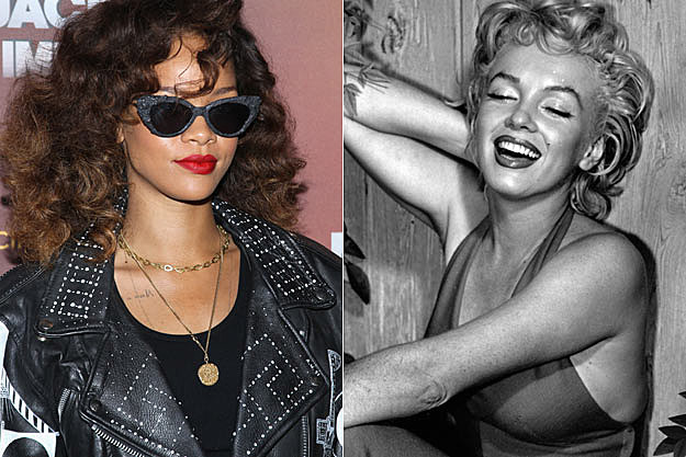 Rihanna Marilyn Monroe