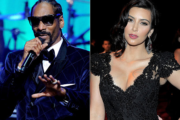 Snoop Dogg Kim Kardashian