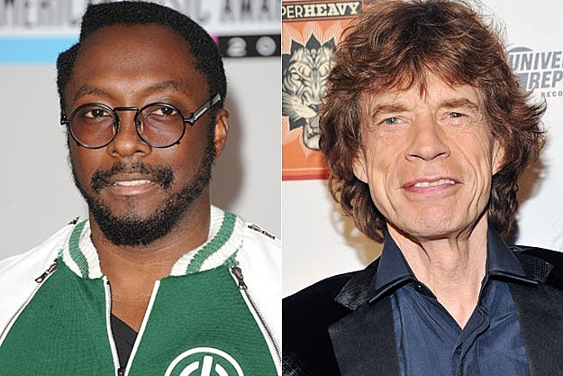 will.i.am Mick Jagger