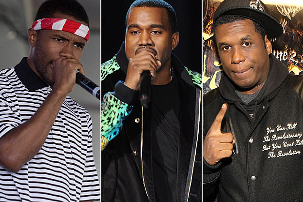 Frank Ocean Kanye West Jay Electronica