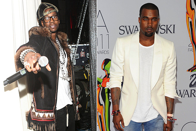 Kanye West + 2 Chainz to Release Collaborative Songs
