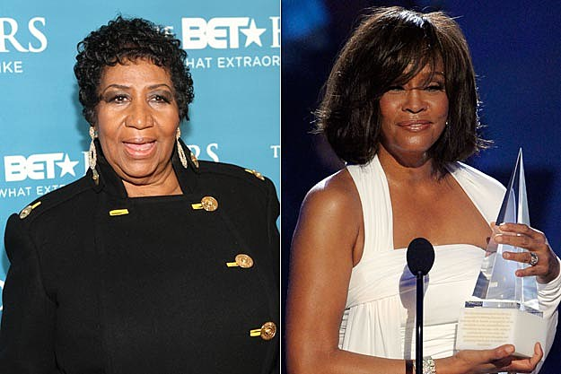 Aretha Franklin Whitney Houston