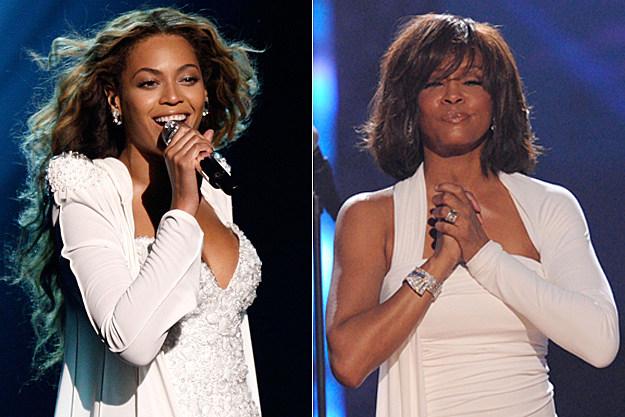 Beyonce, Whitney Houston