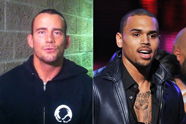 CM Punk Chris Brown