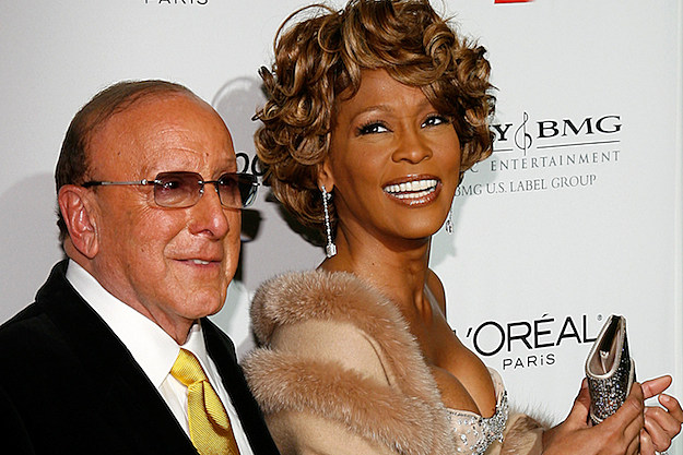 Clive Davis Whitney Houston