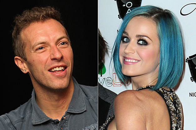 Coldplay and Katy Perry