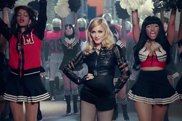 M.I.A. Madonna Nicki Minaj