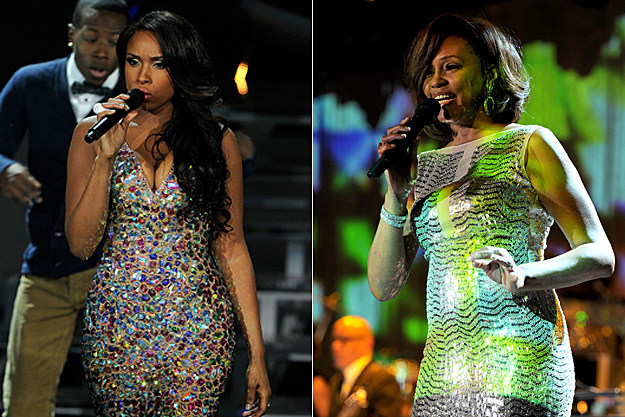 Jennifer Hudson, Whitney Houston