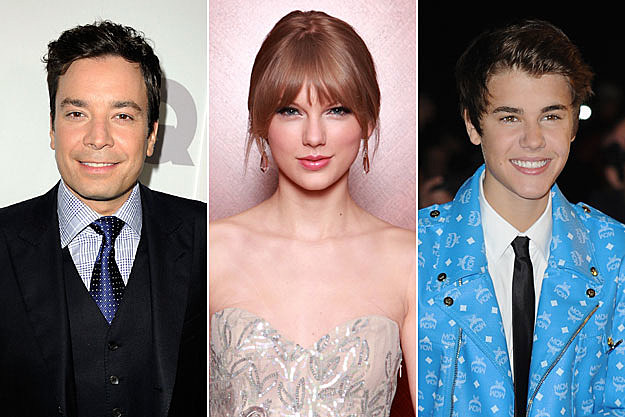 Jimmy Fallon Taylor Swift Justin Bieber
