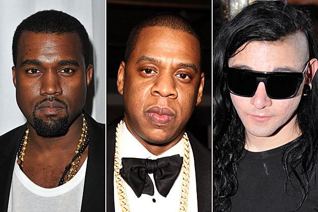 Kanye West Jay-Z Skrillex