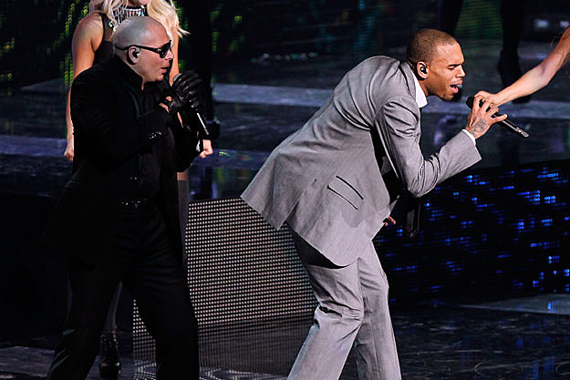 Pitbull and Chris Brown
