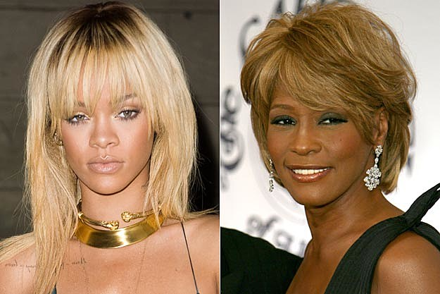 Rihanna Whitney Houston