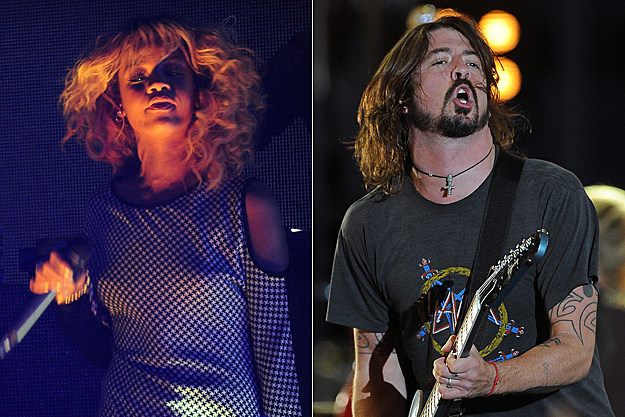 Rihanna, Dave Grohl