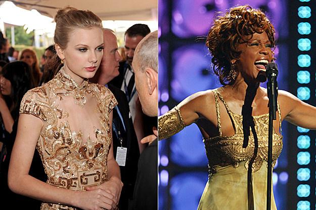 Taylor Swift, Whitney Houston