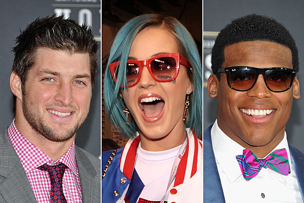Tim Tebow Katy Perry Cam Newton