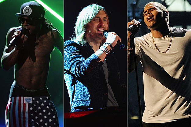 Lil Wayne David Guetta Chris Brown