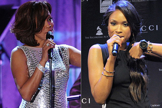 Whitney Houston Jennifer Hudson