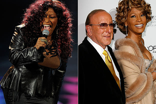 Chaka Khan Clive Davis Whitney Houston