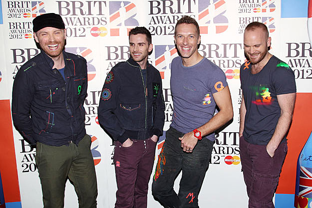 COLDPLAY TAKING 2013 OFF