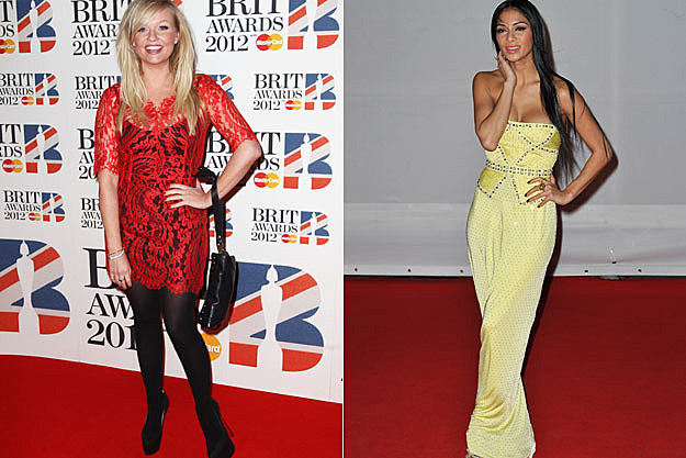 Emma Bunton of the Spice Girls Nicole Scherzinger
