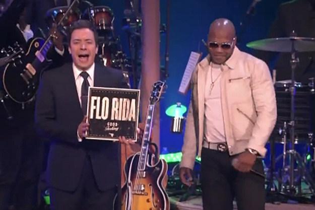 Jimmy Fallon, Flo Rida