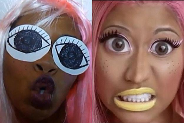GloZell Nicki Minaj