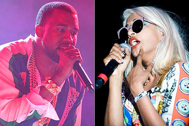 Kanye West, M.I.A.