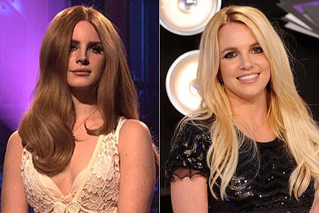 Lana Del Rey, Britney Spears