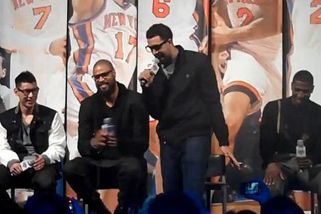 Landry Fields + the New York Knicks