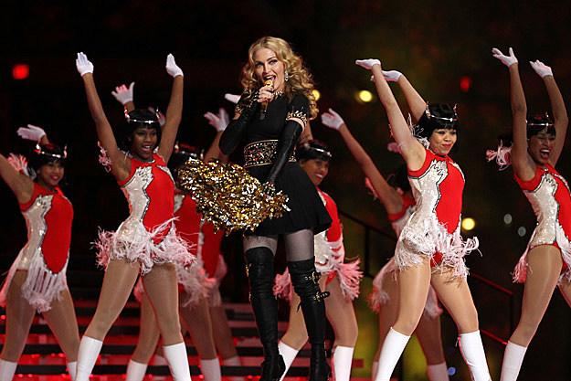 Madonna Super Bowl XLVI