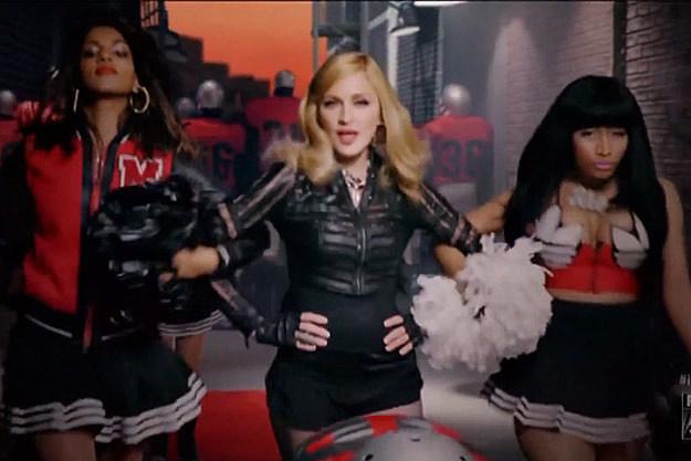 MIA Madonna Nicki Minaj