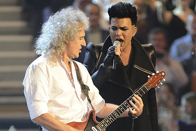 Brian May Adam Lambert