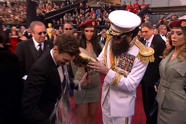 Ryan Seacrest Sasha Baron Cohen