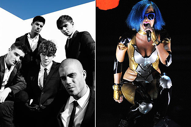 The Wanted Katy Perry